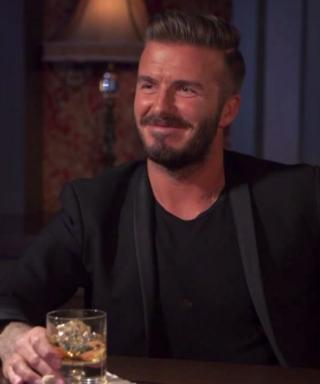 Watch David Beckham's Miserable Attempt at Taking an Ugly Selfie