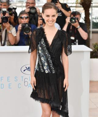 Natalie Portman Takes a Fashion Risk and Exposes Her Underwear at Cannes