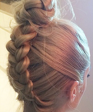Hair #OnFleek: Four Easy Steps to Getting Jaime King's Braided Bun