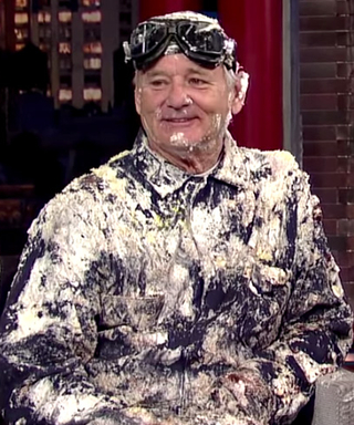 Watch a Montage of Bill Murray's Craziest Moments on Late Show in Honor of David Letterman's Last Episode Ever Tonight!
