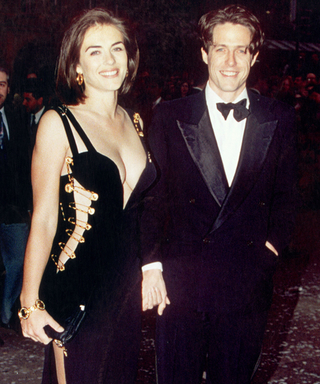 #TBT: Elizabeth Hurley RevealsWhether She'dRock Her Iconic Versace Safety Pin Dress Now