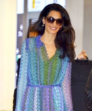Amal Clooney Shows Us How to Welcome Summer in the Perfect Little Dress
