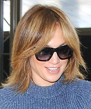 Jennifer Lopez Ditches Her Signature 'Do for a Lob
