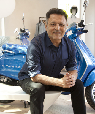 Vroom! Elie Tahari Teams Up With Vespa for (What Else?) a New Scooter Collection