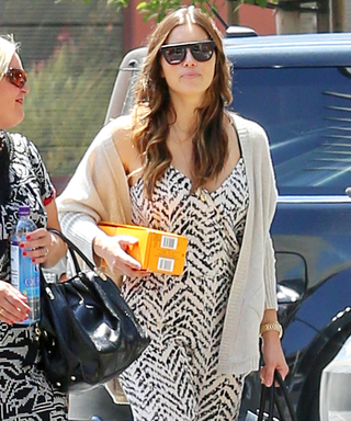 Jessica Biel Debuts Her Amazing Post-Baby Body in a Chic Jumpsuit