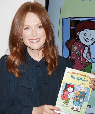 Cue the Aww's!Julianne Moore's LatestFrecklefaceStrawberry Book Hits Stands