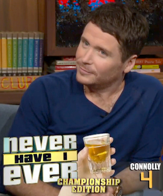 """Entourage's Kevin Connolly and Kevin Dillon Play """"Never Have I Ever"""" on Watch What Happens Live"""