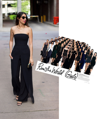 #InspiredByInStyle: Reader of the Week Shaheen Khan on How to Pull Off the Girl Boss Look