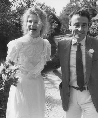 We're Inspired by Candice Bergen's Sweet Nuptials