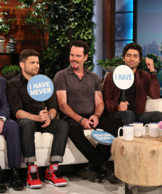 """Watch the Entourage Cast Play """"Never Have I Ever"""" on Ellen"""