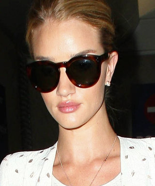 Rosie Huntington-Whiteley Doesn't Let TSA Checkpoints Trump Her Style