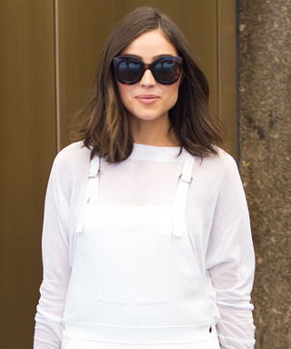 Olivia Culpo Is Giving Us Major StyleInspo in Her White Overalls
