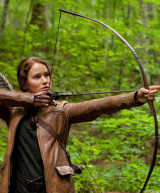 Show Us How You Are #BadAssLikeKatniss for a Chance to Win This Stunning Hunger Games Portrait Book