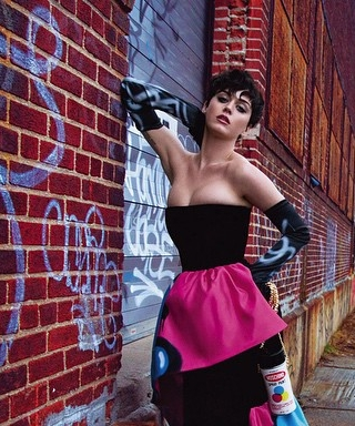 Katy Perry Unveils Five New Images from Her Colorful Moschino Campaign