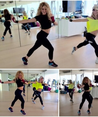 So That's How Shakira Toned Her Post-Baby Body
