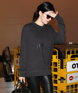 Kendall Jenner's Latest Outfit Proves She's a Superfan of Brother-in-Law Kanye West