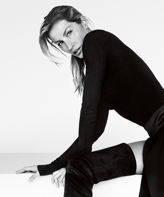 Gisele Bündchen Gives Us Major Leg Envy in Stuart Weitzman's Fall 2015 Campaign