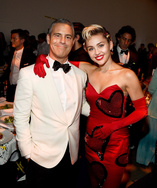 Inside the amfAR Inspiration Gala, Where Miley Cyrus's Artwork Raised $69,000