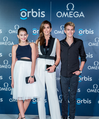 Cindy Crawford and Her Look-Alike Children Hit the Red Carpet Together