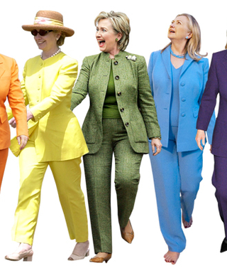 Hillary Clinton and Her Pantsuits: A Look at Her Colorful CampaignStyle