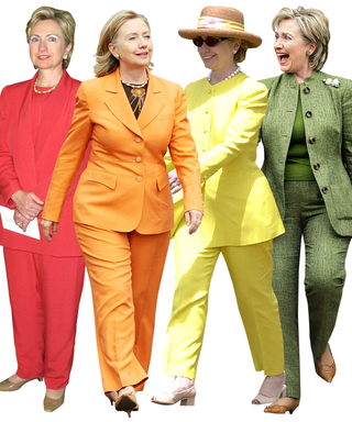 Hillary Clinton's Career in Pantsuits