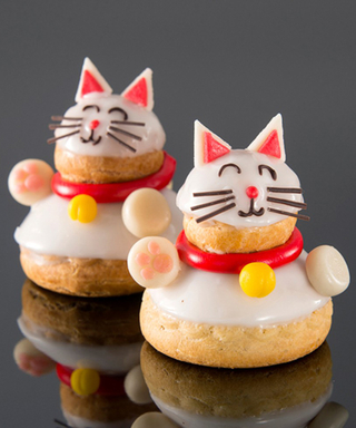 Dominique Ansel Opens a Tokyo Bakery and You Have to See the Adorable Cream-Filled Cat Pastries