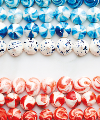 Kickstart Fourth of July Festivities with These Mod Meringues