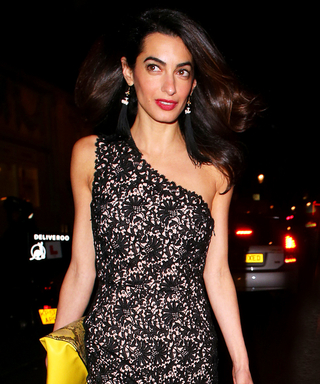 Amal Clooney Wears Two Chic Looks That Are as Different as Night and Day