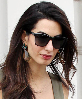 Amal Clooney Redefines Military-Chic with a Jumpsuit