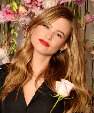 Behati Prinsloo Shares Her Secret to Perfect Beachy Hair—Plus, Her Off-Duty Beauty Tips!
