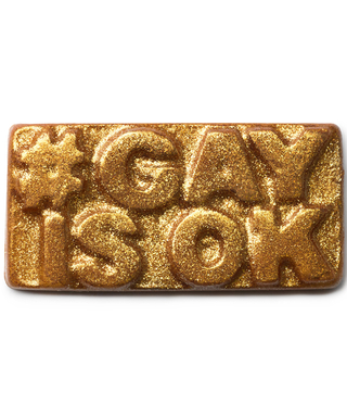 Lush Launches #GayIsOK Soaps to Raise Awareness for Global Gay Rights