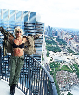 Lady Gaga Celebrates Pride Day in Chicago, Plus More of the Best Weekend Instagrams
