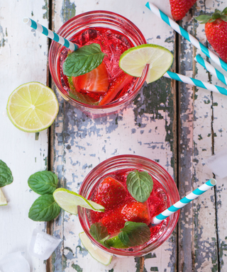 Mix Up These Show-Stopping Red, White, and Blue Cocktails