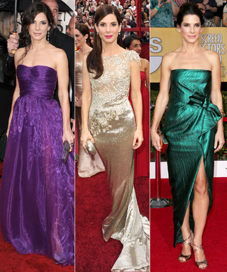 Need Proof That Sandra Bullock Rules the Red Carpet? We Found Her 10 Best Looks Ever