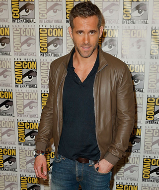 Ryan Reynolds Makes a Stop at Comic-Con (and Looks Good)