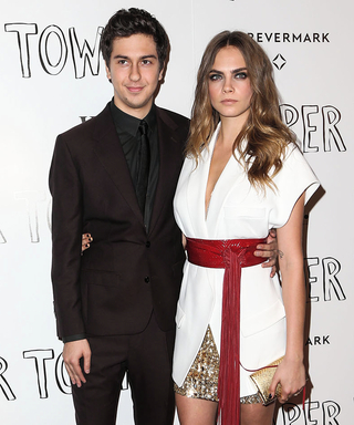 Cara Delevingne Stuns at the Paper Towns Screening in a Kimono-Style Top