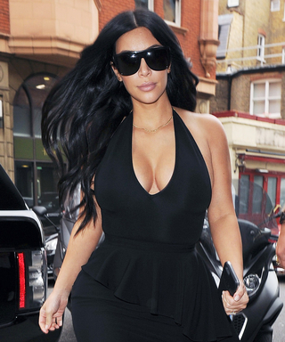 Kim Kardashian Steps-up Her Maternity Look, Flamenco-Style