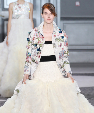 Giambattista Valli's Haute Couture Show Featured the Fluffiest Skirts We've Ever Seen