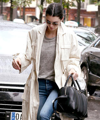 Rainy Skies Can't Stop Kendall Jenner from Looking Polished in Paris