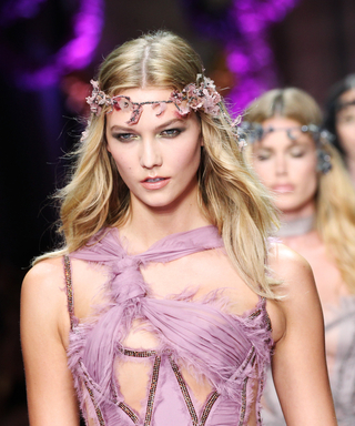 Kendall Jenner, Karlie Kloss, and More Transform Into Fairytale Goddesses for Versace's Couture Show