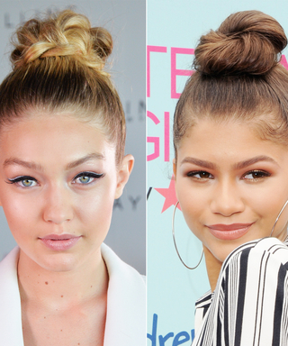 How to Perfect Hollywood's Top-Knot Trend in Minutes
