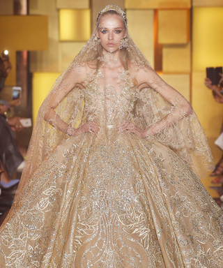 Elie Saab Dedicates His Couture Collection to His 25th Wedding Anniversary