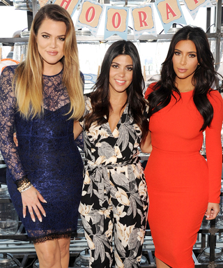 Kourtney Kardashian Works It Out With Kim and Khloé in This Instagram Snap