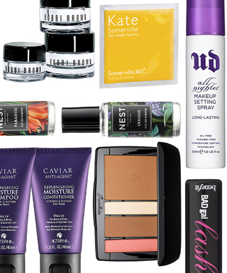 The Best Travel-Size Beauty Products that Won't Get Swiped by the TSA