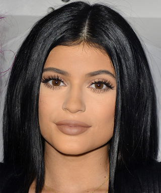 Kylie Jenner Revisits Her Blue Hair