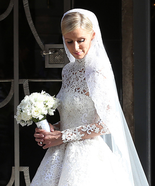 Nicky Hilton Weds James Rothschild Wearing a Valentino Wedding Gown