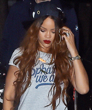 Leave it to Rihanna to Make Sweats and a T-Shirt Look This Good