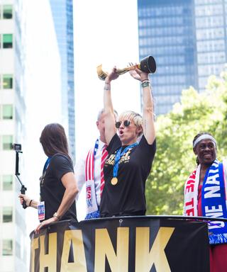 Check Out What Happened at the Totally Inspirational U.S. Women's Soccer Team Parade