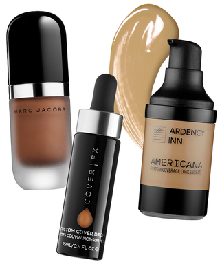 These Concentrated Foundations Blend with YourSkin-Care Staples to Provide Tinted Coverage