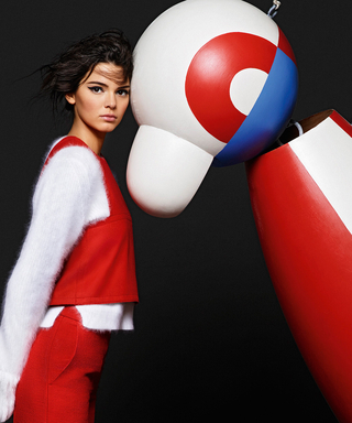 Kendall Jenner Poses Next to a Puppet in Fendi's Latest Ad Campaign